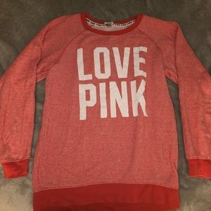 Victoria's Secret PINK oversized crew neck